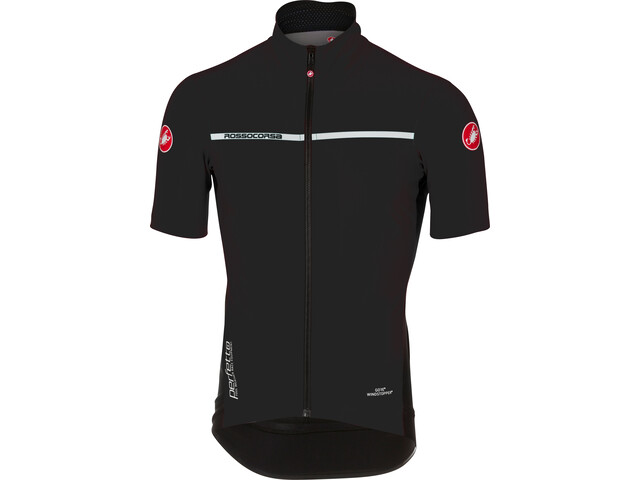 Castelli Perfetto Light 2 Fietsshirt korte mouwen Heren, light black